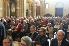 Giubileo dei nonni nella Basilica Sant'Ambrogio di Milano