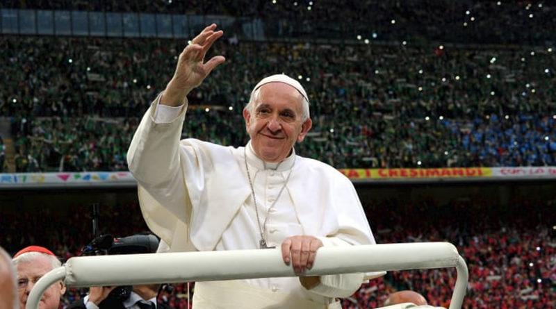 Papa Francesco a San Siro 25 marzo 2017